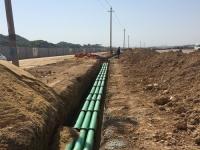 梅溪湖路电力埋管工程